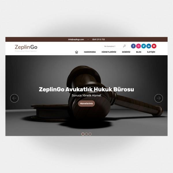 Avukat Hukuk Web Sitesi V1