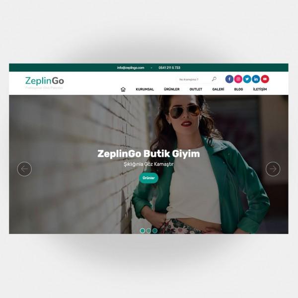 Tekstil Giyim Web Sitesi V1