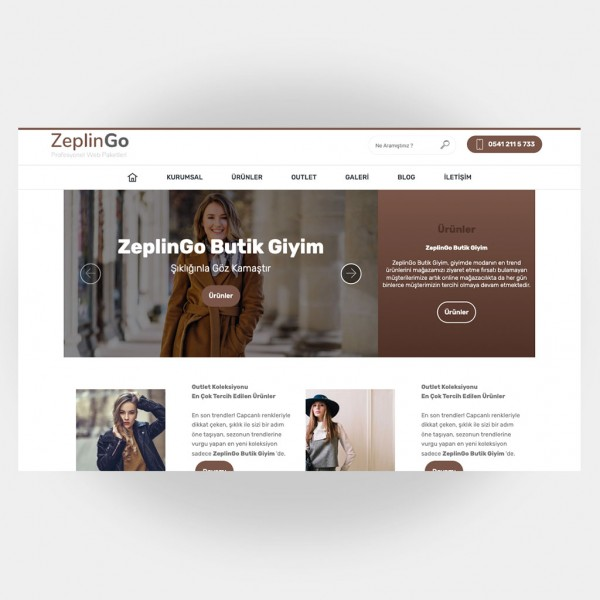 Tekstil Giyim Web Sitesi V2