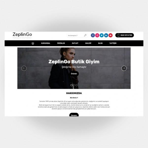 Tekstil Giyim Web Sitesi V3