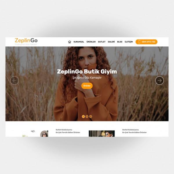 Tekstil Giyim Web Sitesi V5