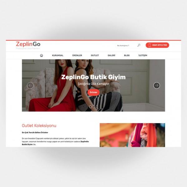 Tekstil Giyim Web Sitesi V6