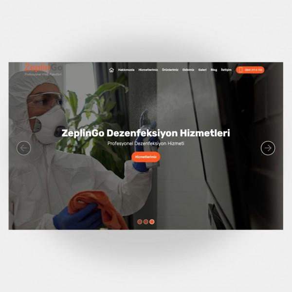 Dezenfeksiyon Web Sitesi V4