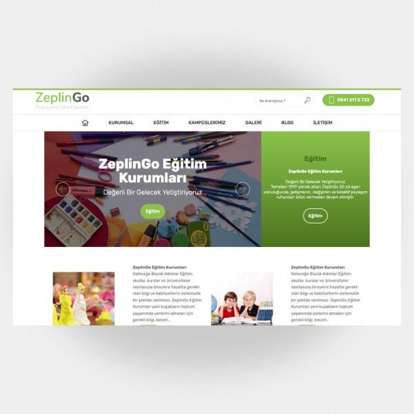 Eğitim Okul Web Sitesi V2