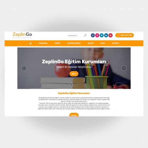 Eğitim Okul Web Sitesi V3