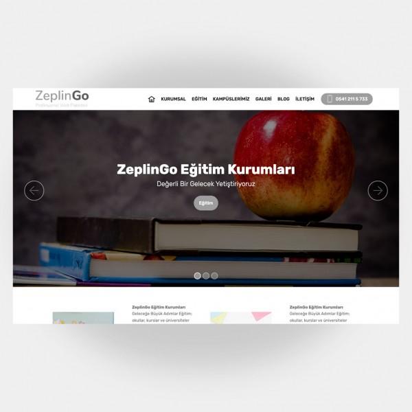 Eğitim Okul Web Sitesi V5