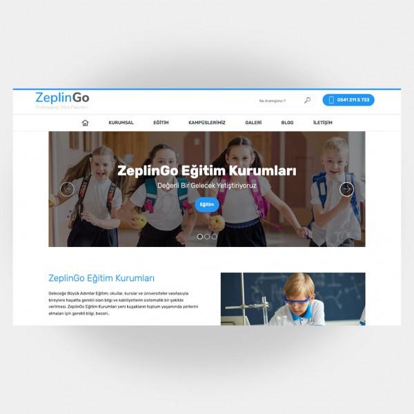 Eğitim Okul Web Sitesi V6