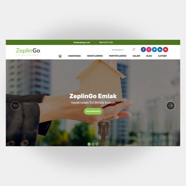 Emlakçı Web Sitesi V1