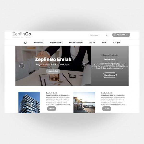 Emlakçı Web Sitesi V2