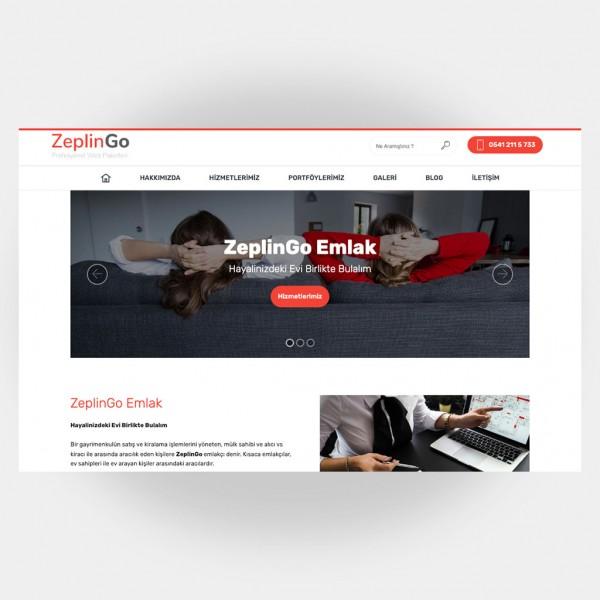 Emlakçı Web Sitesi V6