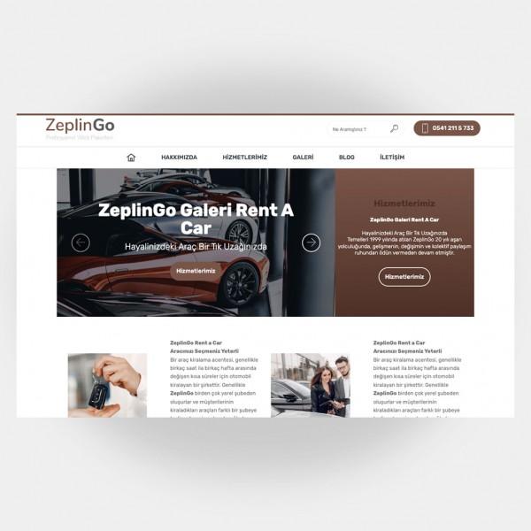 Galeri Araç Kiralama Web Sitesi V2