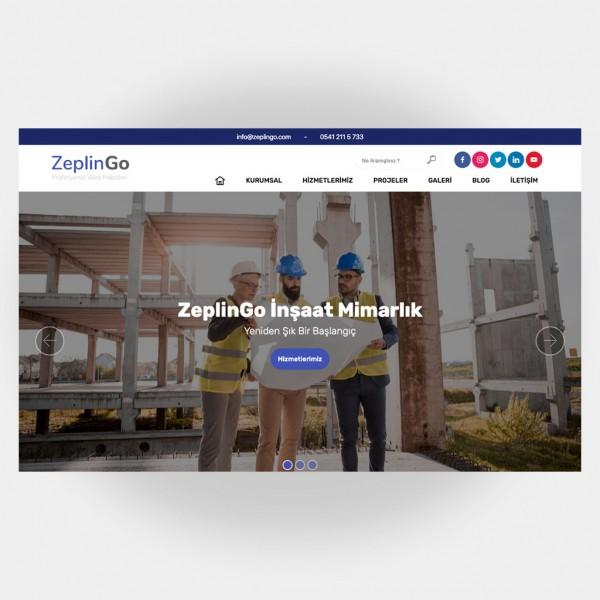 İnşaat Mimarlık Web Sitesi V1