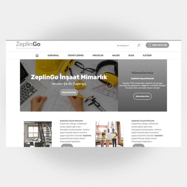 İnşaat Mimarlık Web Sitesi V2