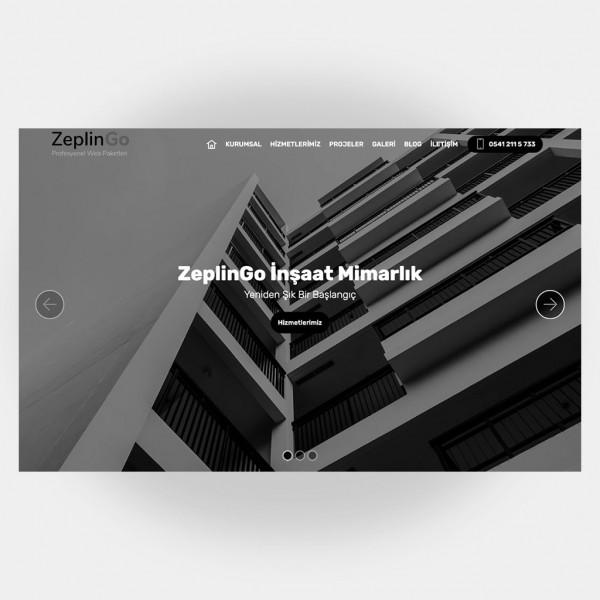 İnşaat Mimarlık Web Sitesi V4