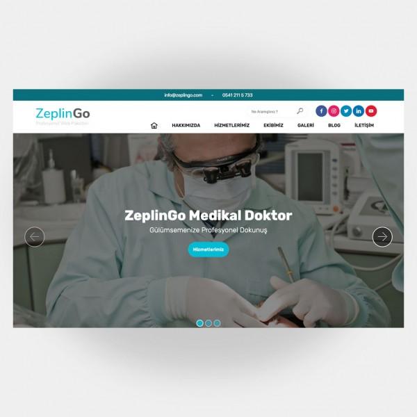 Medikal Doktor Web Sitesi V1