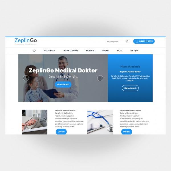 Medikal Doktor Web Sitesi V2