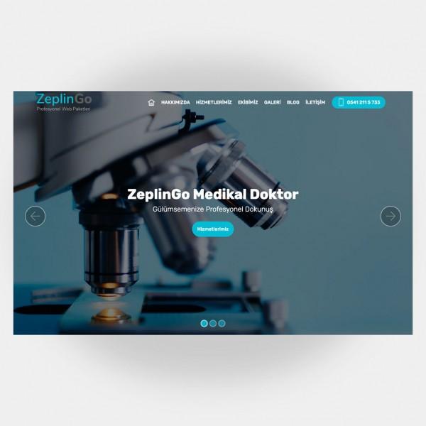 Medikal Doktor Web Sitesi V4