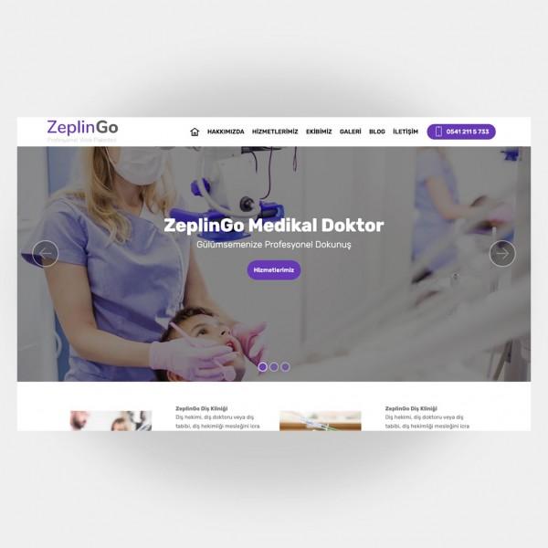 Medikal Doktor Web Sitesi V5