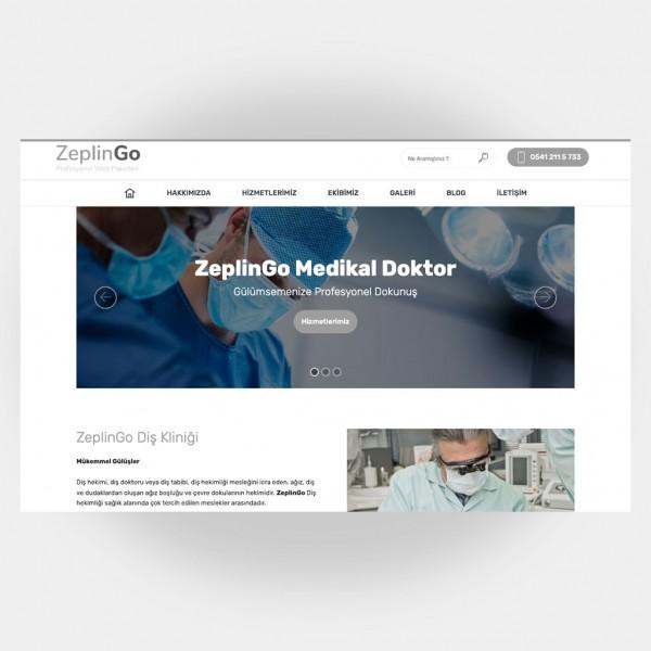 Medikal Doktor Web Sitesi V6