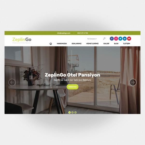 Otel Pansiyon Web Sitesi V1