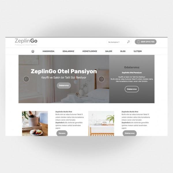 Otel Pansiyon Web Sitesi V2
