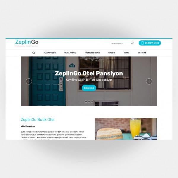 Otel Pansiyon Web Sitesi V6