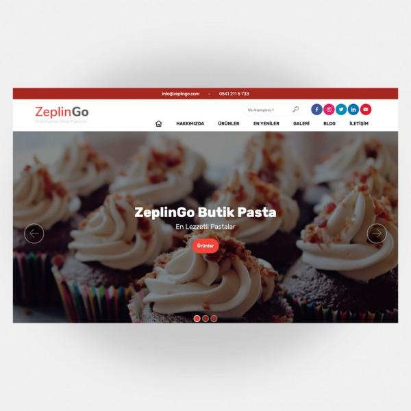 Pastacı Web Sitesi V1