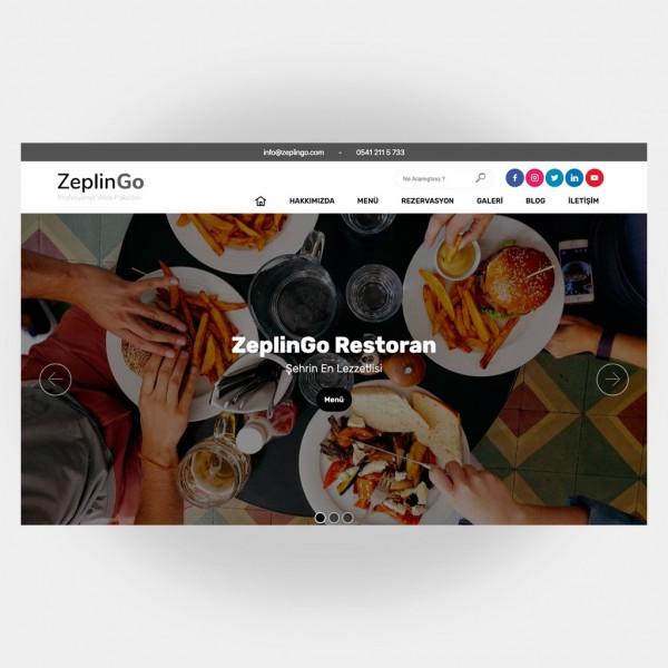 Restoran Web Sitesi V1