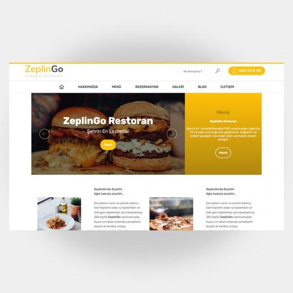 Restoran Web Sitesi V2