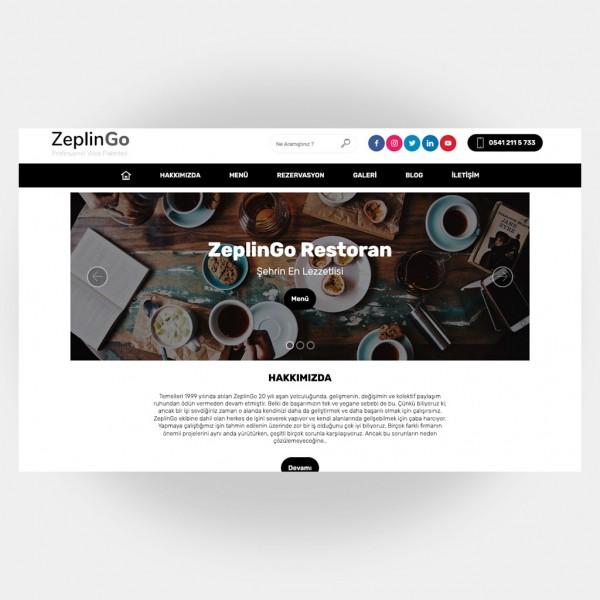 Restoran Web Sitesi V3