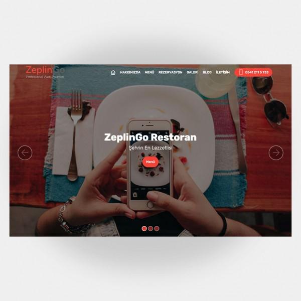 Restoran Web Sitesi V4