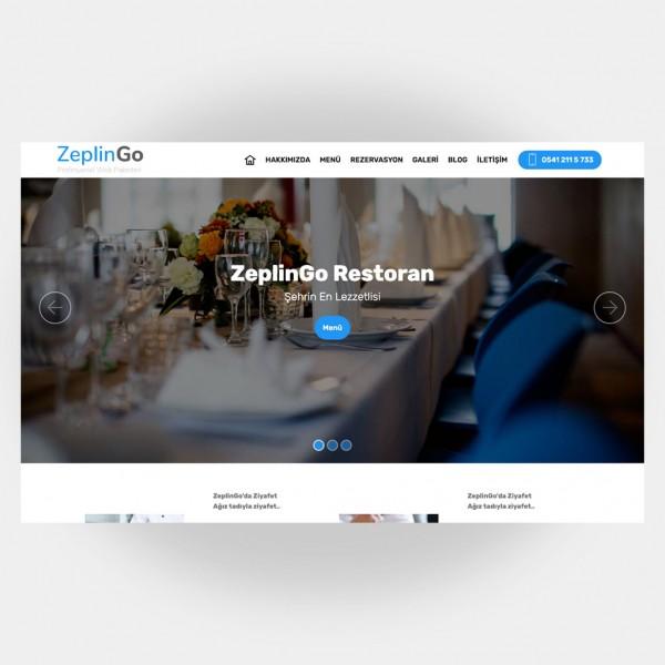 Restoran Web Sitesi V5