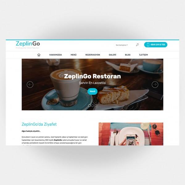 Restoran Web Sitesi V6
