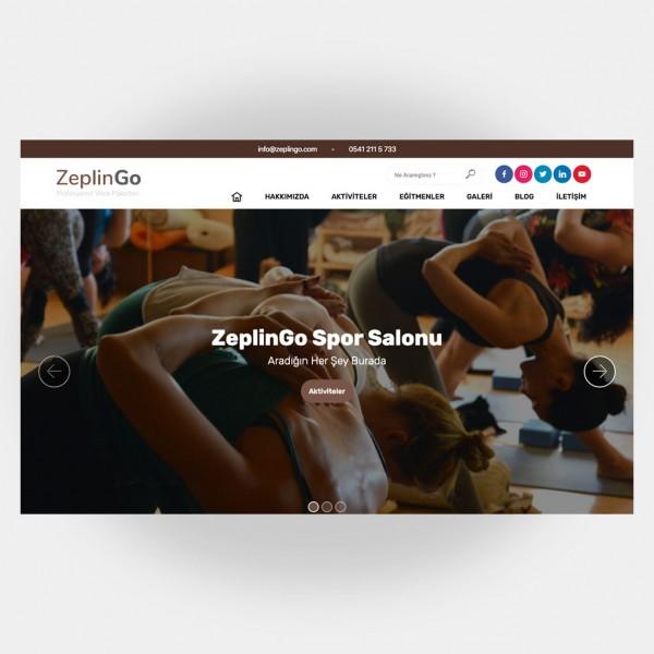 Spor Salonları Web Sitesi V1
