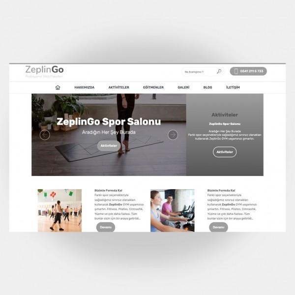 Spor Salonları Web Sitesi V2