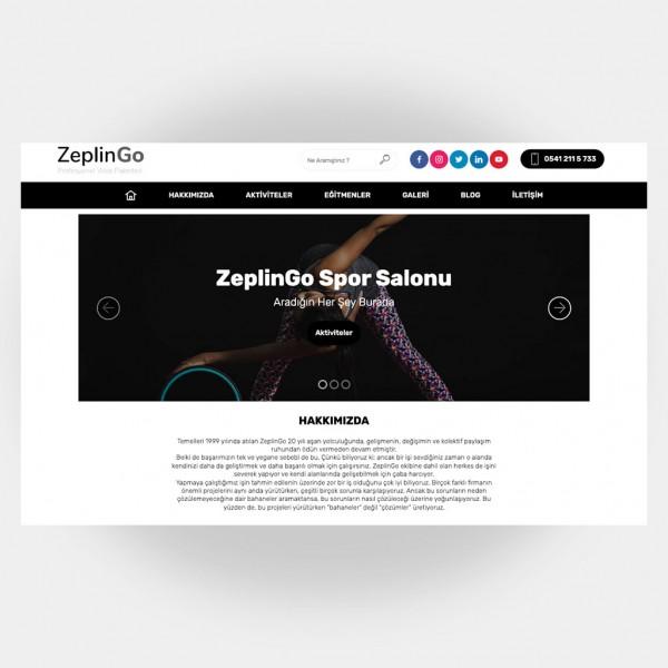 Spor Salonları Web Sitesi V3