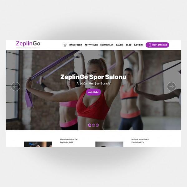 Spor Salonları Web Sitesi V5