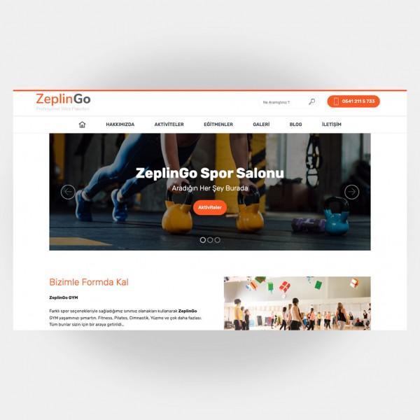 Spor Salonları Web Sitesi V6