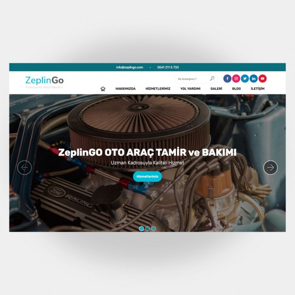 Tamir Servis Web Sitesi V1