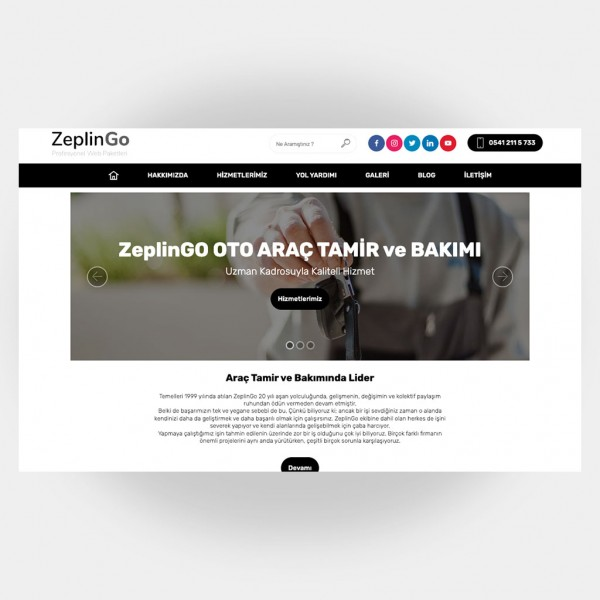 Tamir Servis Web Sitesi V3