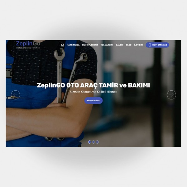 Tamir Servis Web Sitesi V4