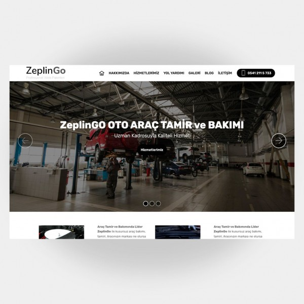 Tamir Servis Web Sitesi V5
