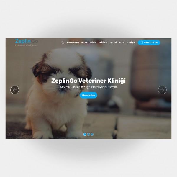 Veteriner Web Sitesi V4